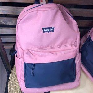 NWT Levi's Blush/Pink Bookbag